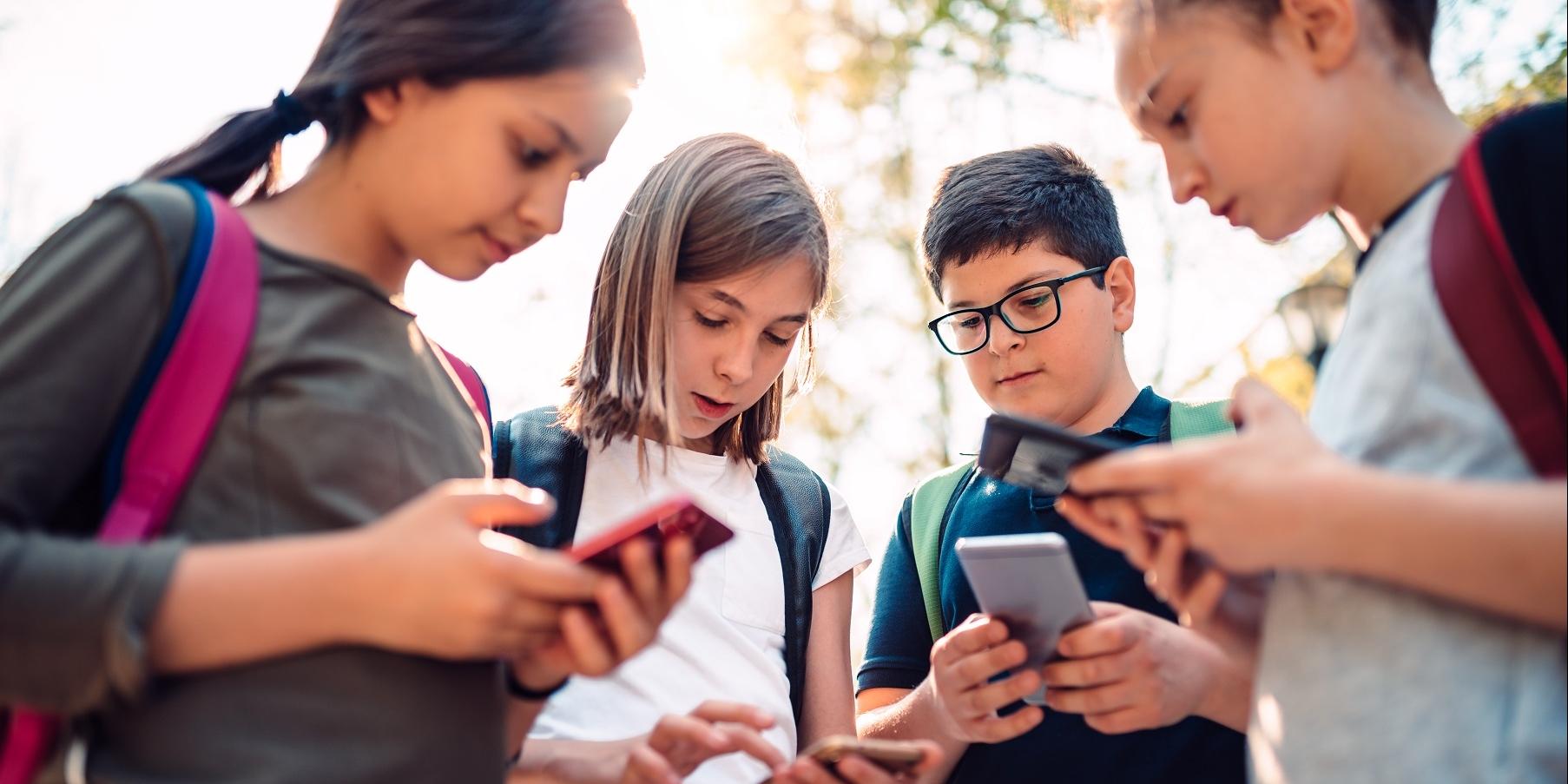 Smartphone gebruik en myopie bij tieners
